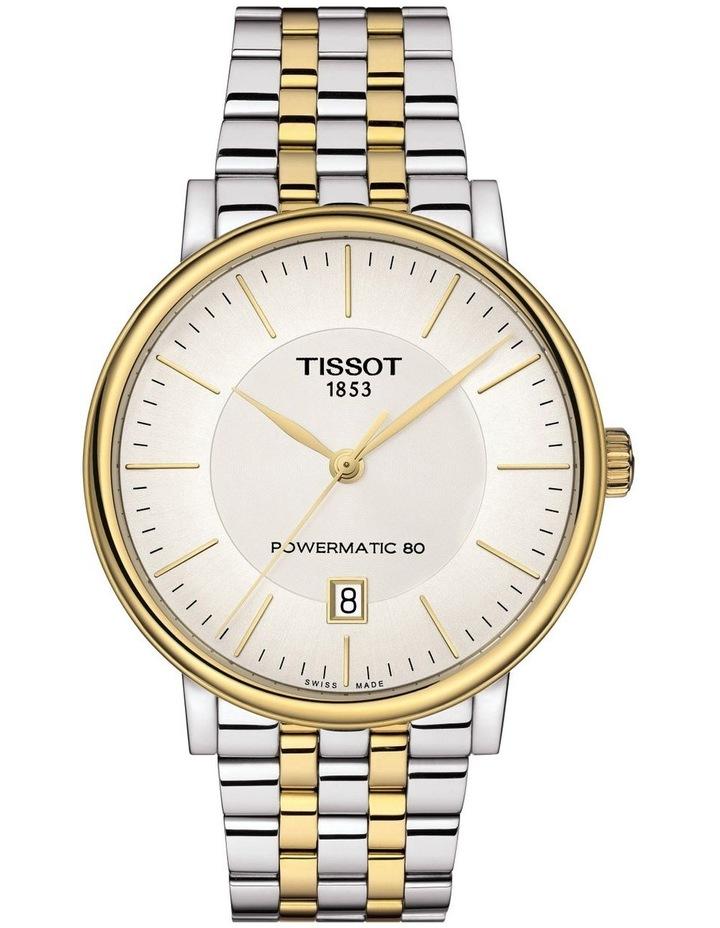 Carson Premium Powermatic 80 Watch T122.407.22.031.00 image 1