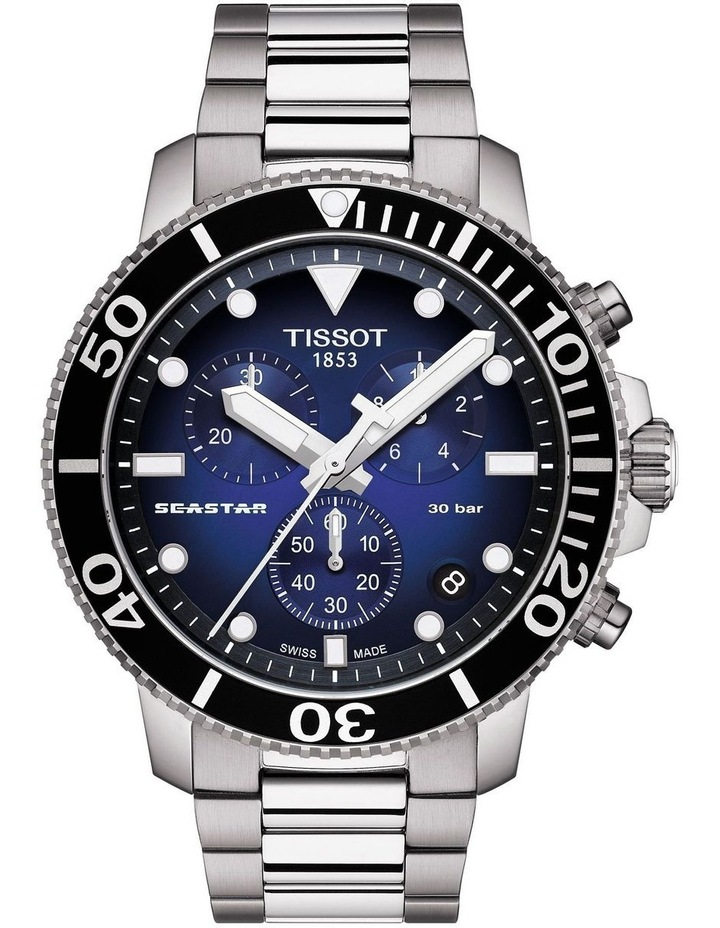 Seastar 1000 Chronograph Watch T120.417.11.041.01 image 1