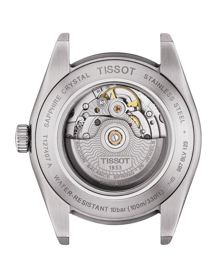 Gentleman Automatic Silicium Watch T127.407.11.031.00 image 3