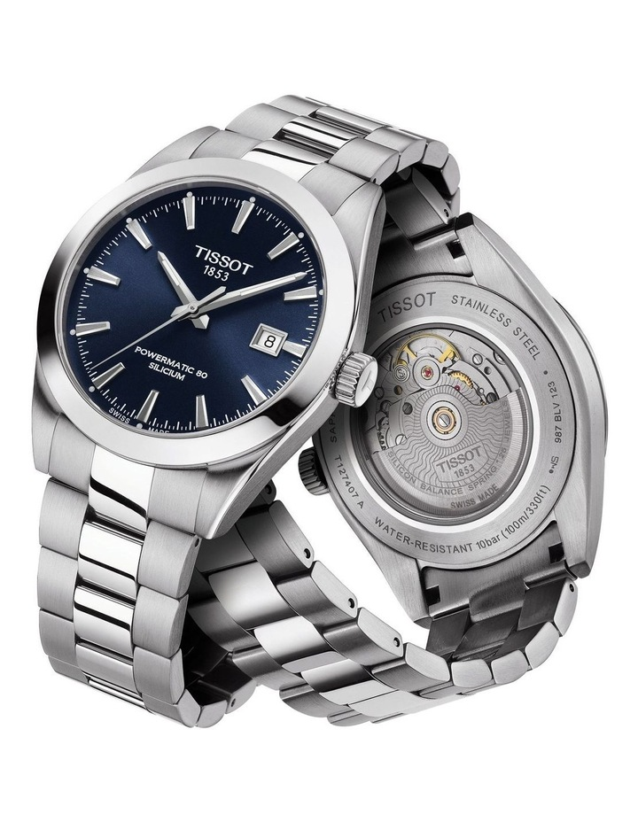 Gentleman Automatic Silicium Watch T127.407.11.041.00 image 4