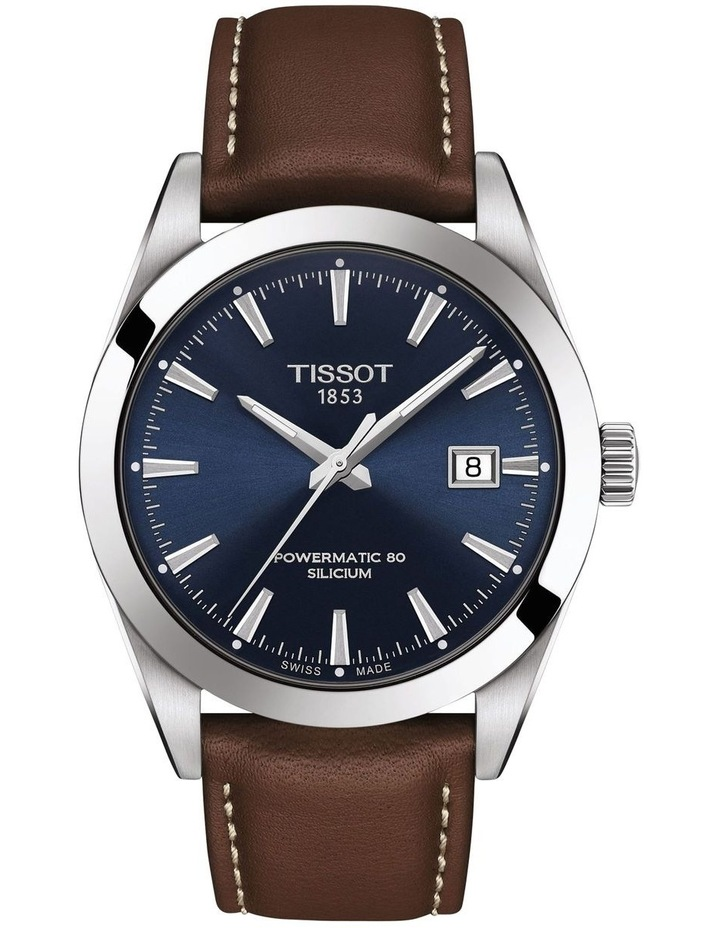 Gentleman Automatic Silicium Watch T127.407.16.041.00 image 1