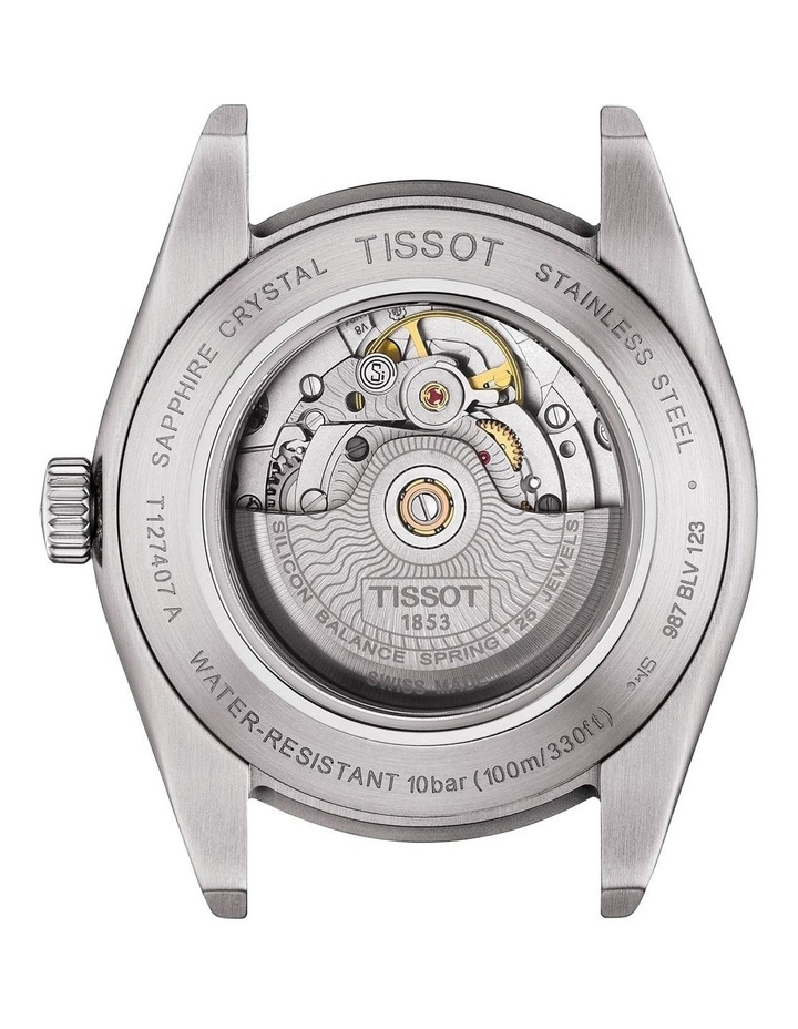 Gentleman Automatic Silicium Watch T127.407.16.041.00 image 4
