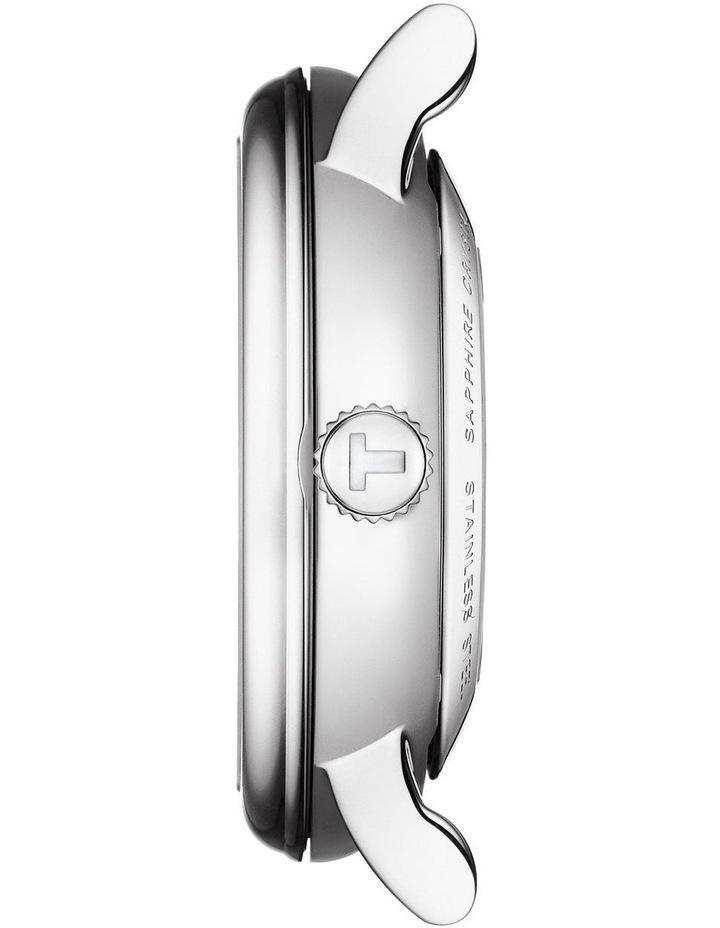 Carson Premium Lady Black Leather Automatic Watch T122.207.16.033.00 image 3