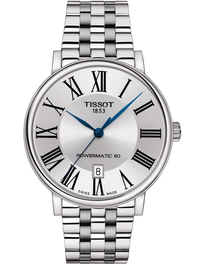 Carson Premium Powermatic 80 Watch T122.407.11.033.00 image 1
