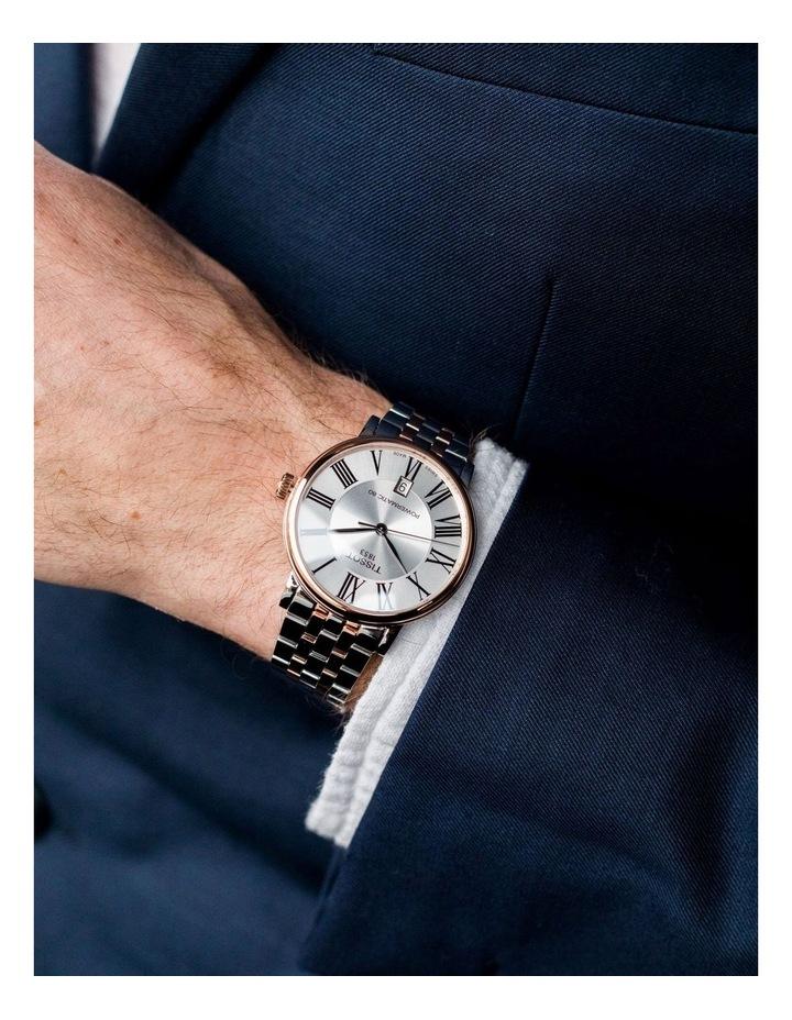 Carson Premium Powermatic 80 Watch T122.407.22.033.00 image 2