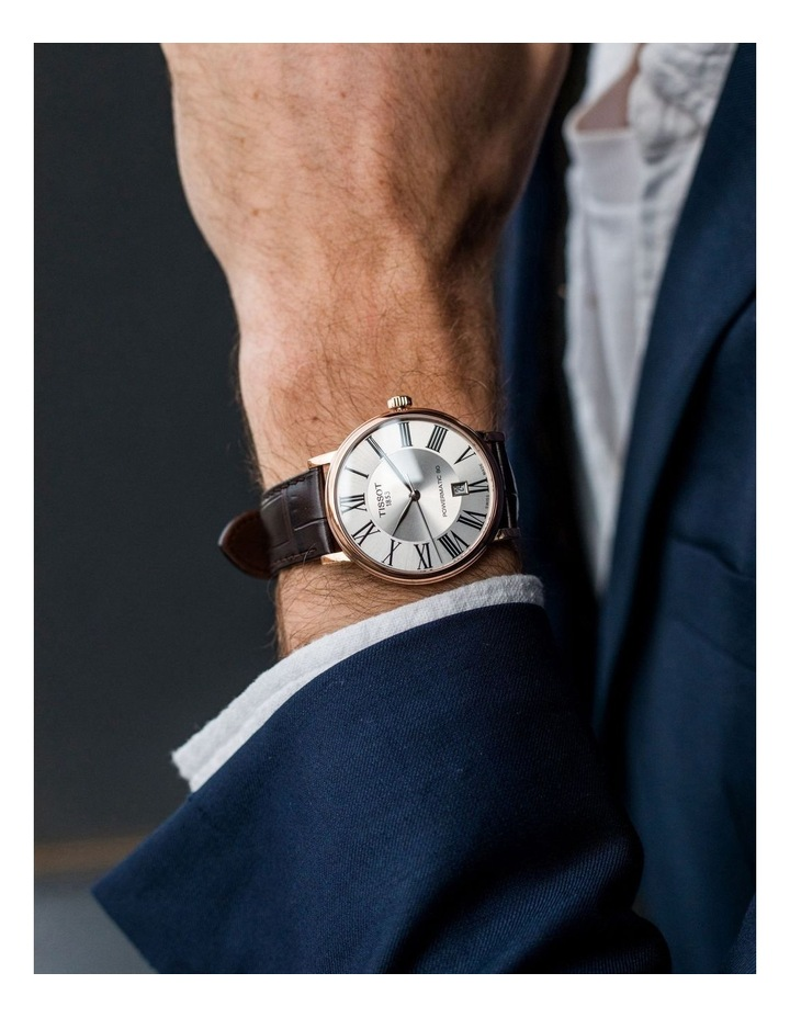 Carson Premium Powermatic 80 Watch T122.407.36.033.00 image 2