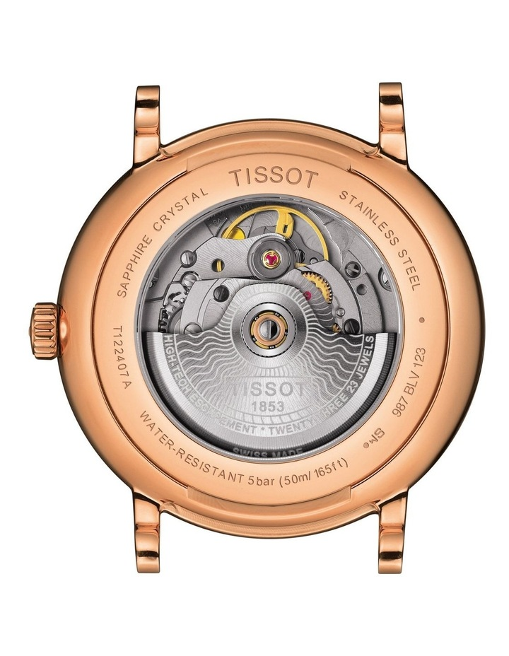 Carson Premium Powermatic 80 Watch T122.407.36.033.00 image 4