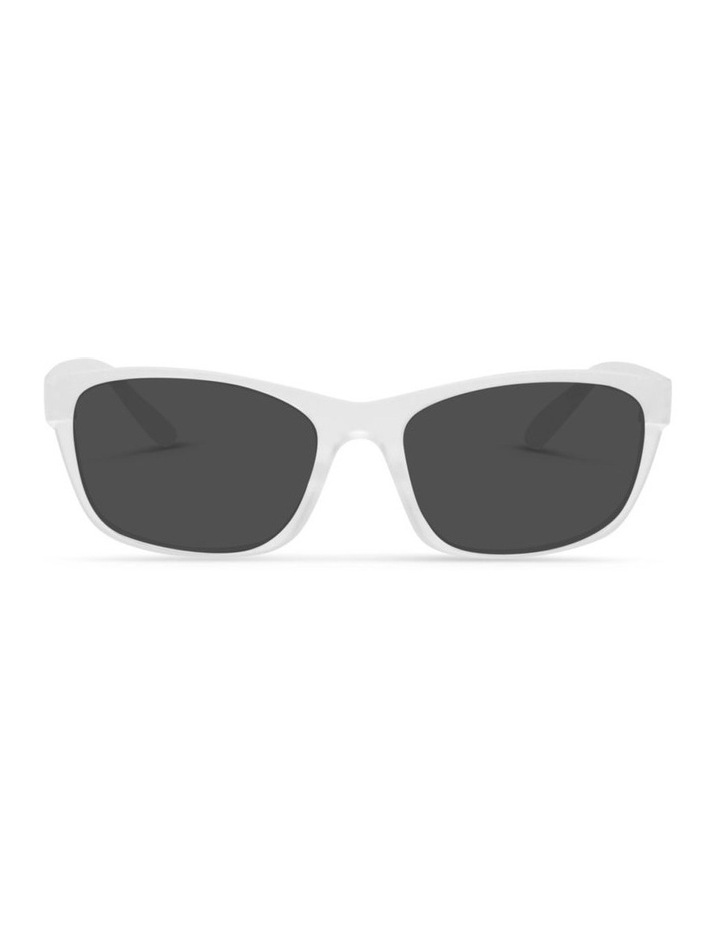 Clear Frost UV Protected Sunglasses with Grey Tint image 1