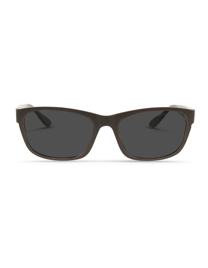 Dark Chocolate UV Protected Sunglasses with Grey Tint image 1