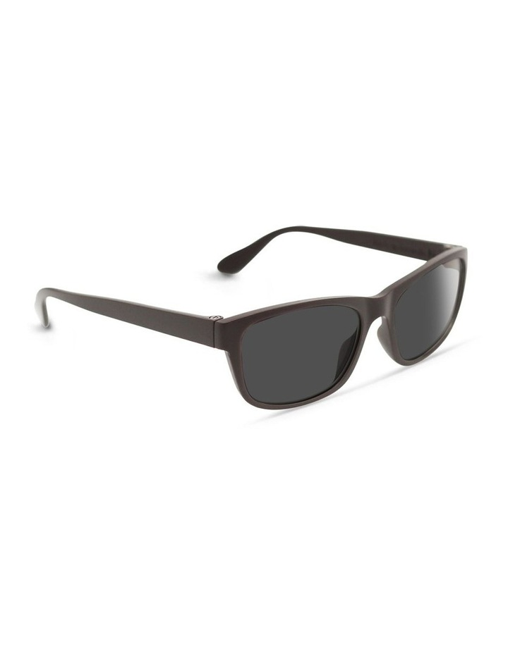 Dark Chocolate UV Protected Sunglasses with Grey Tint image 2