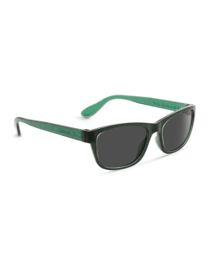 Forest Green UV Protected Sunglasses with Grey Tint image 2