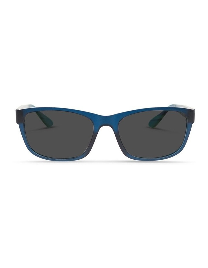 Midnight Blue UV Protected Sunglasses with Grey Tint image 1