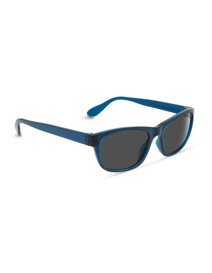 Midnight Blue UV Protected Sunglasses with Grey Tint image 2