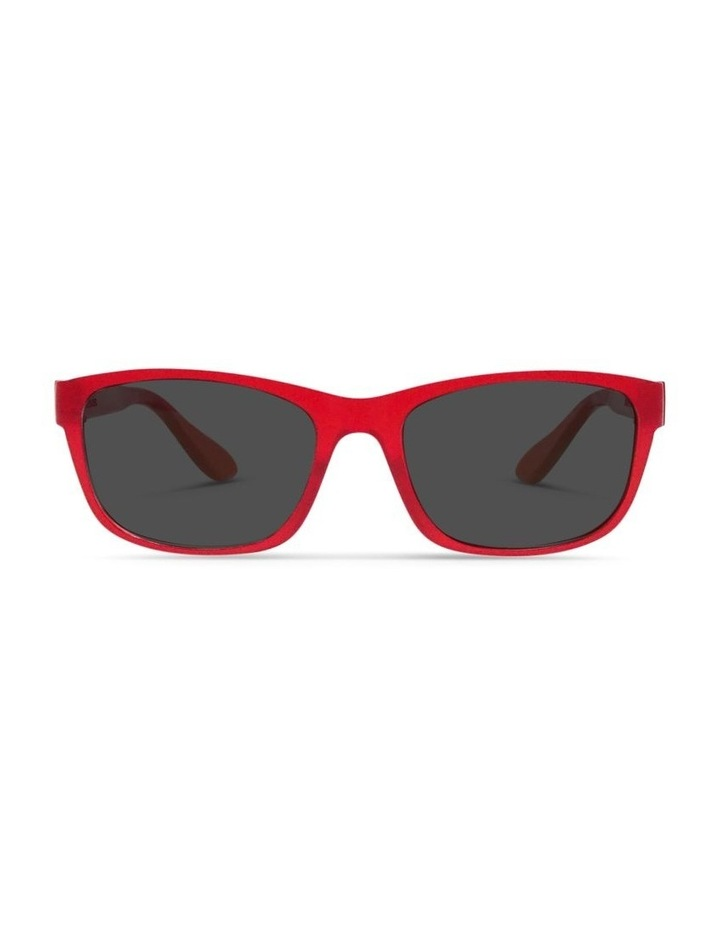 Raspberry Cordial UV Protected Sunglasses with Grey Tint image 1