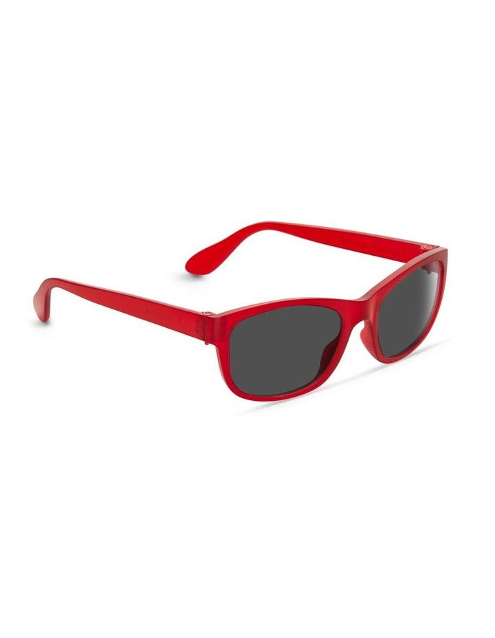 Raspberry Cordial UV Protected Sunglasses with Grey Tint image 2