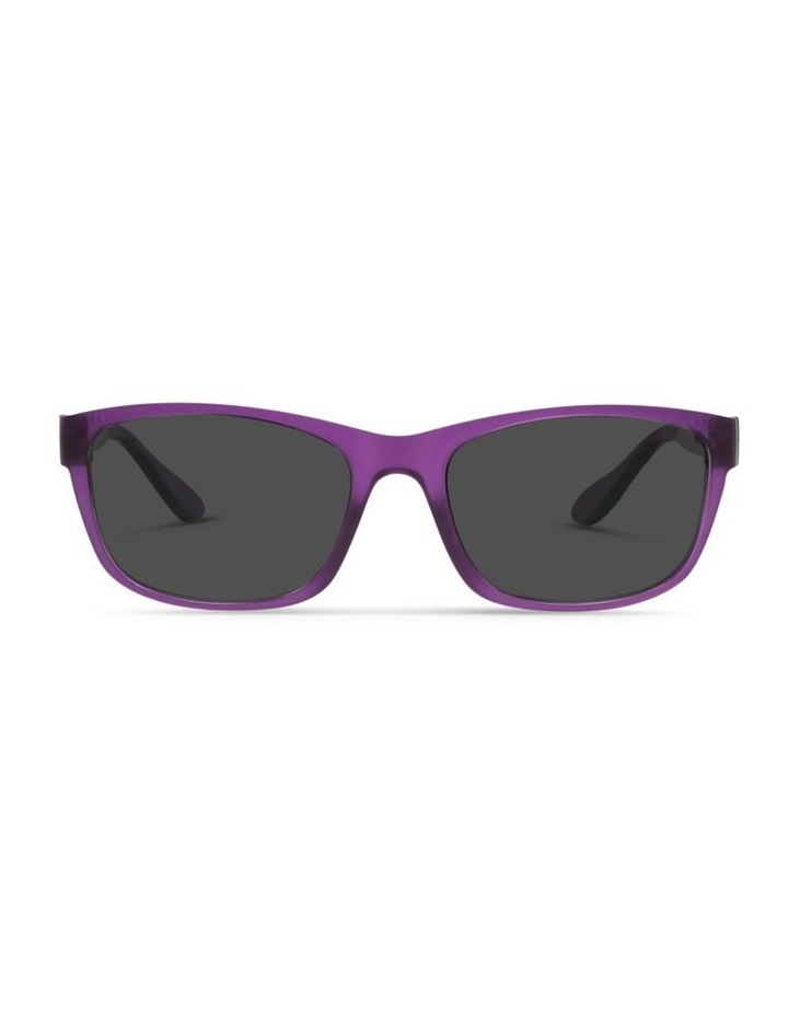 Royal Purple UV Protected Sunglasses with Grey Tint image 1