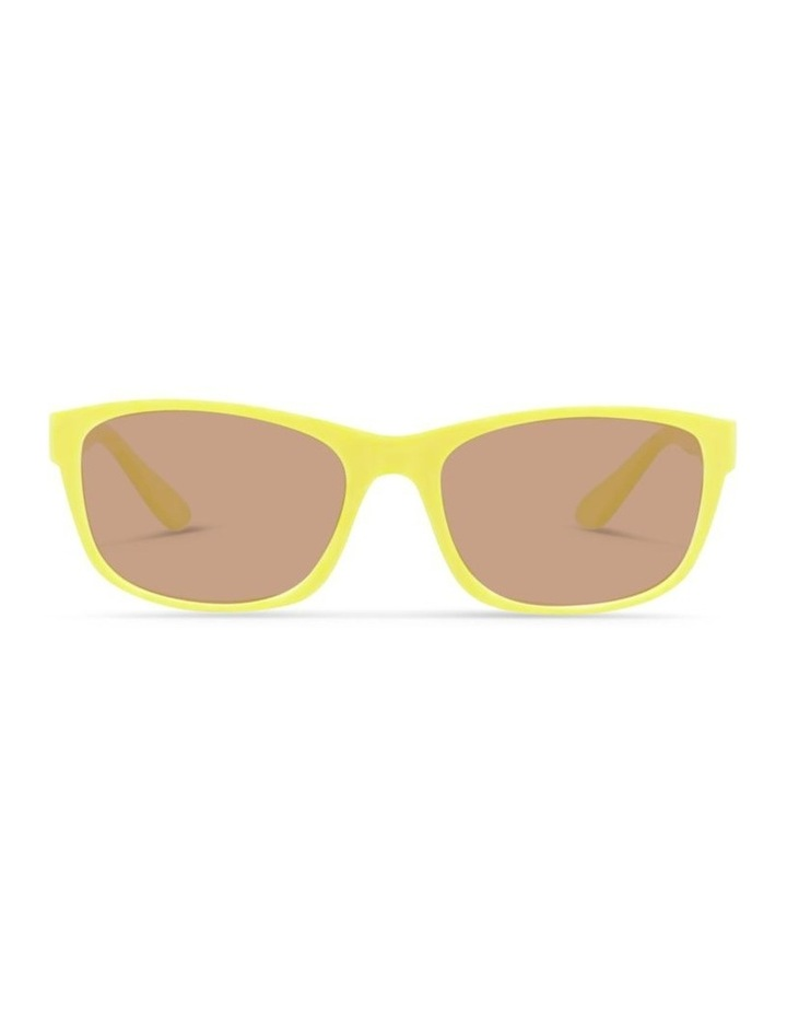 Daffodil Yellow UV Protected Sunglasses with Brown Tint image 1