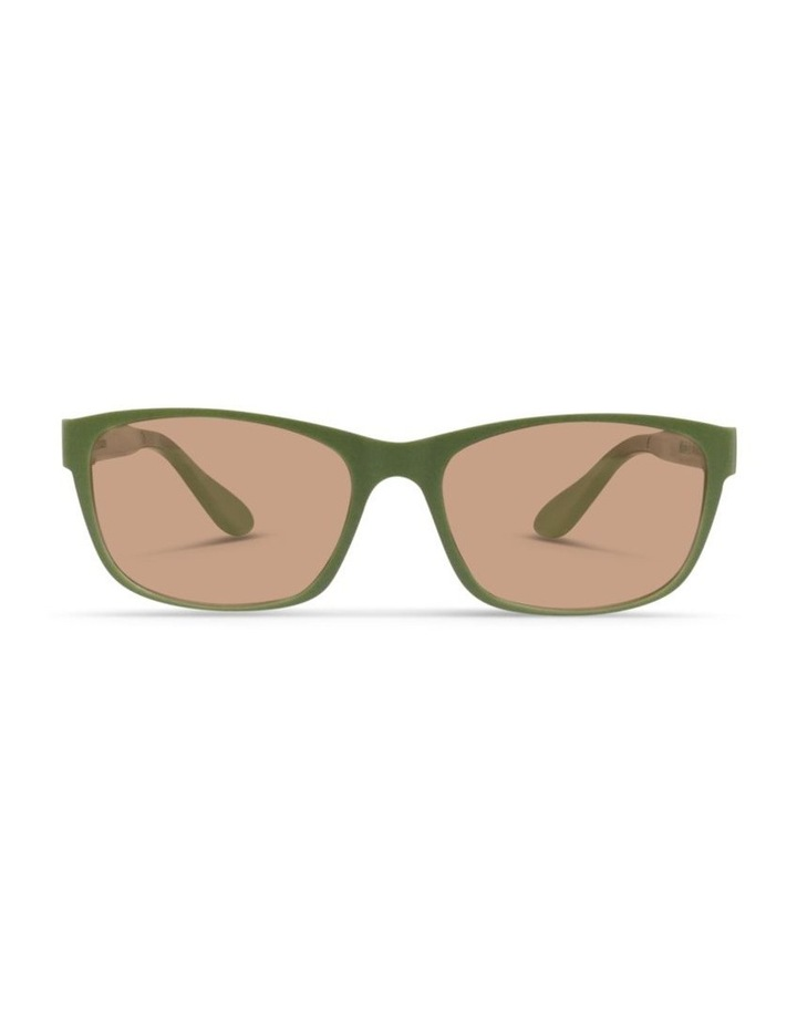 Pistachio UV Protected Sunglasses with Brown Tint image 1