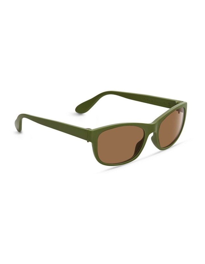 Pistachio UV Protected Sunglasses with Brown Tint image 2