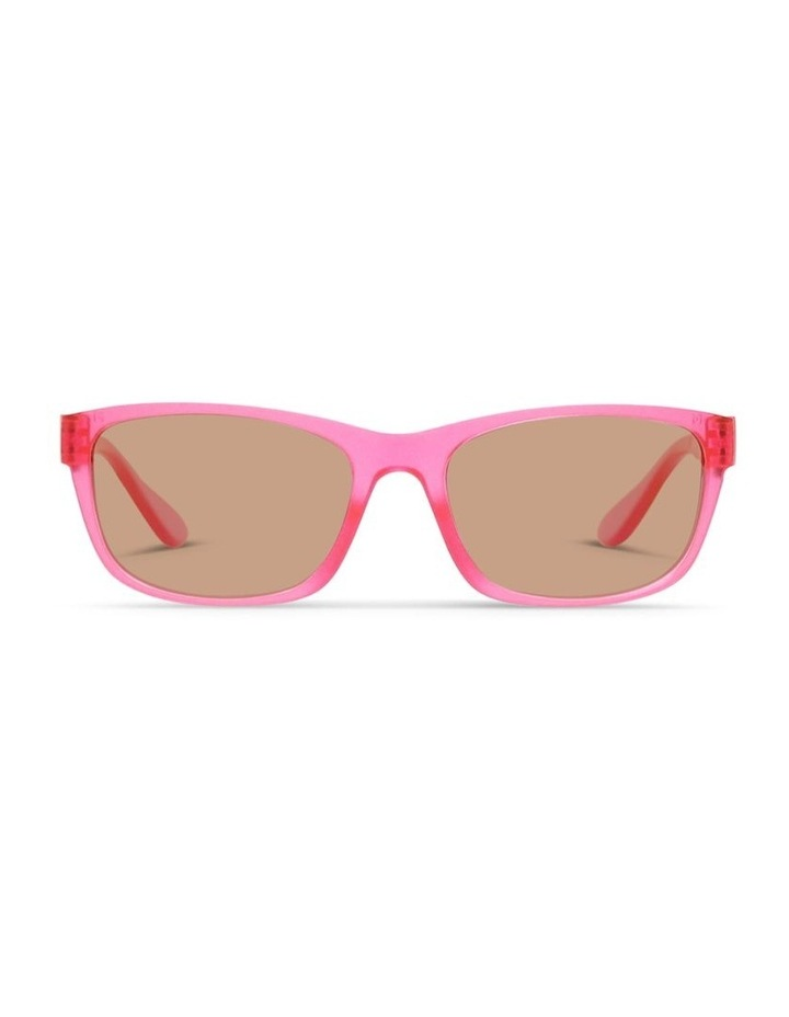 Power Pink UV Protected Sunglasses with Brown Tint image 1