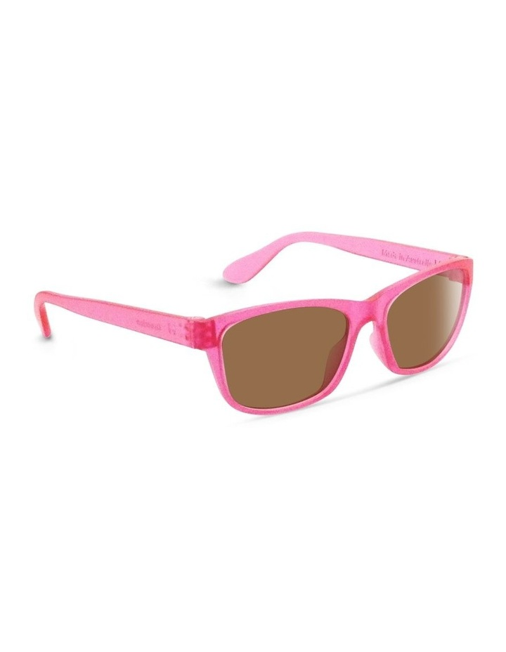 Power Pink UV Protected Sunglasses with Brown Tint image 2