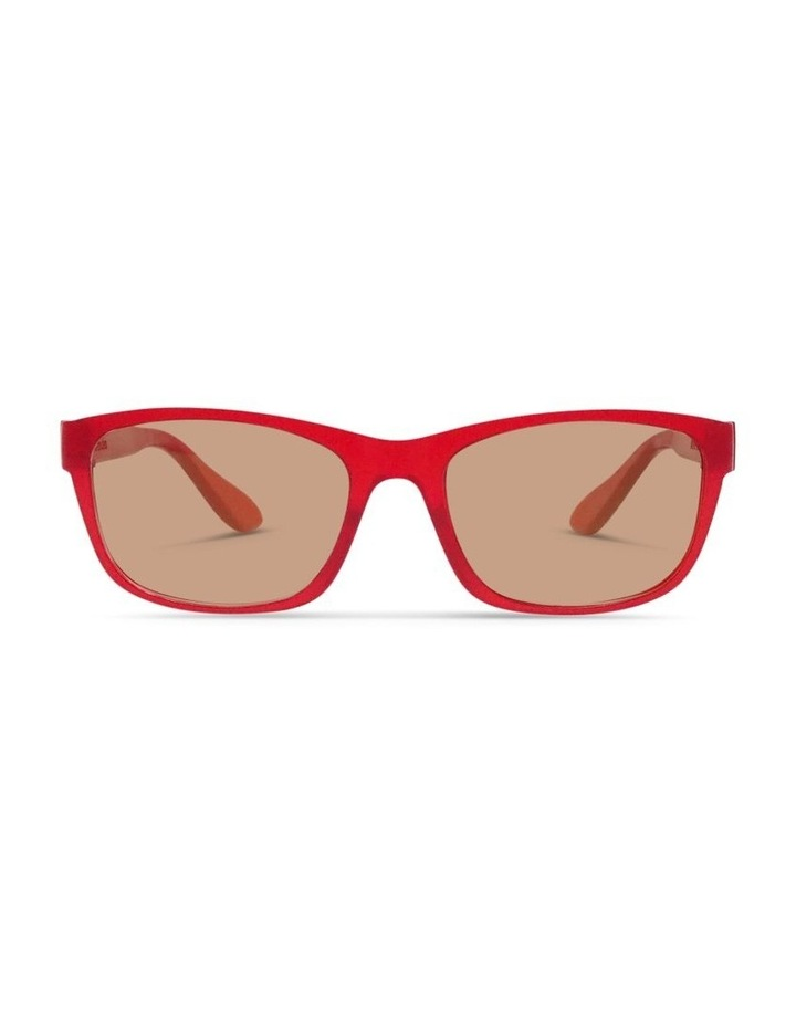 Raspberry Cordial UV Protected Sunglasses with Brown Tint image 1