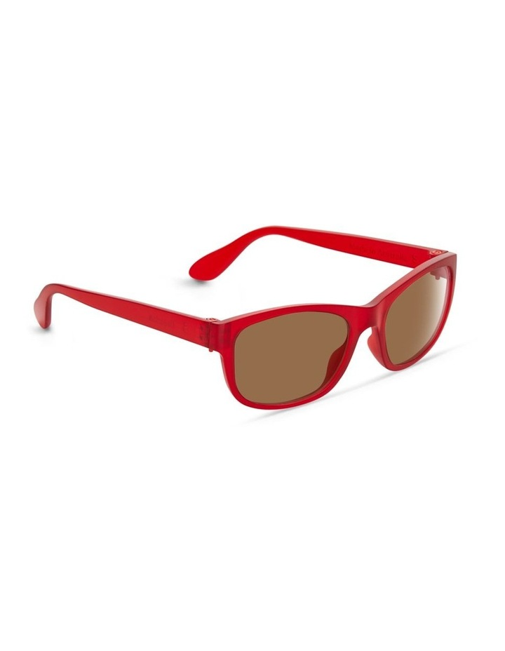 Raspberry Cordial UV Protected Sunglasses with Brown Tint image 2