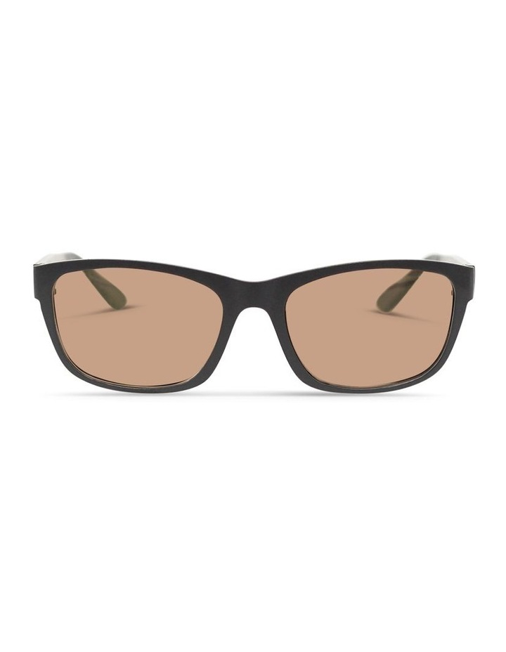 Slate Grey UV Protected Sunglasses with Brown Tint image 1