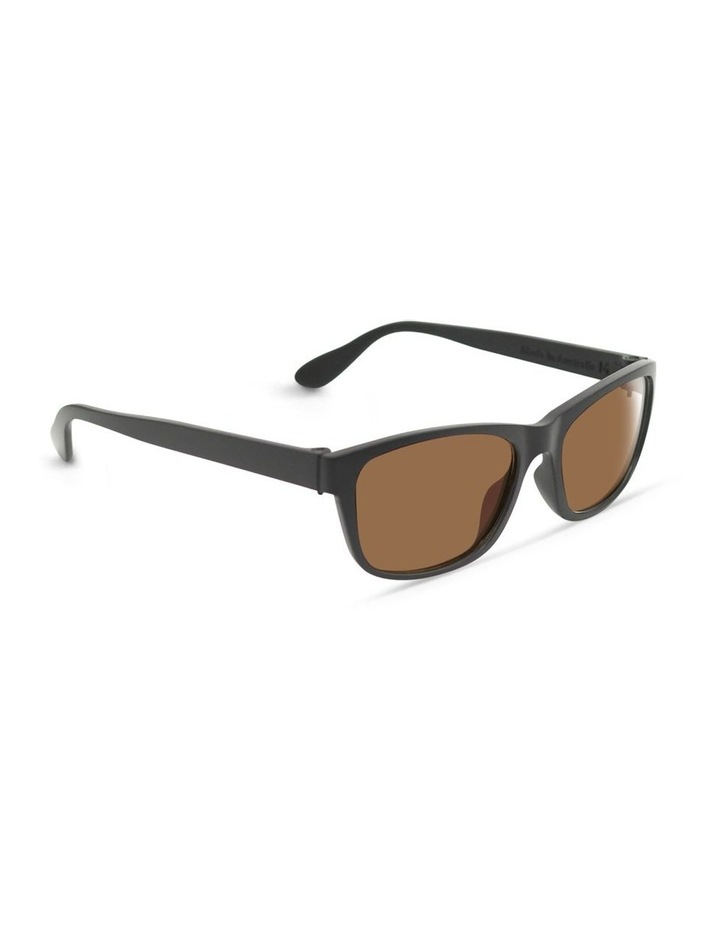 Slate Grey UV Protected Sunglasses with Brown Tint image 2