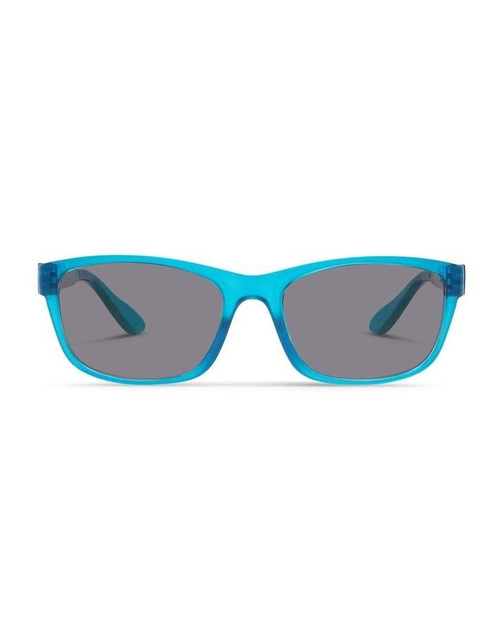 Azure Blue UV Protected Polarised Sunglasses with Grey Tint image 1