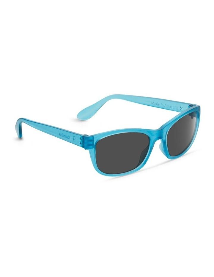 Azure Blue UV Protected Polarised Sunglasses with Grey Tint image 2