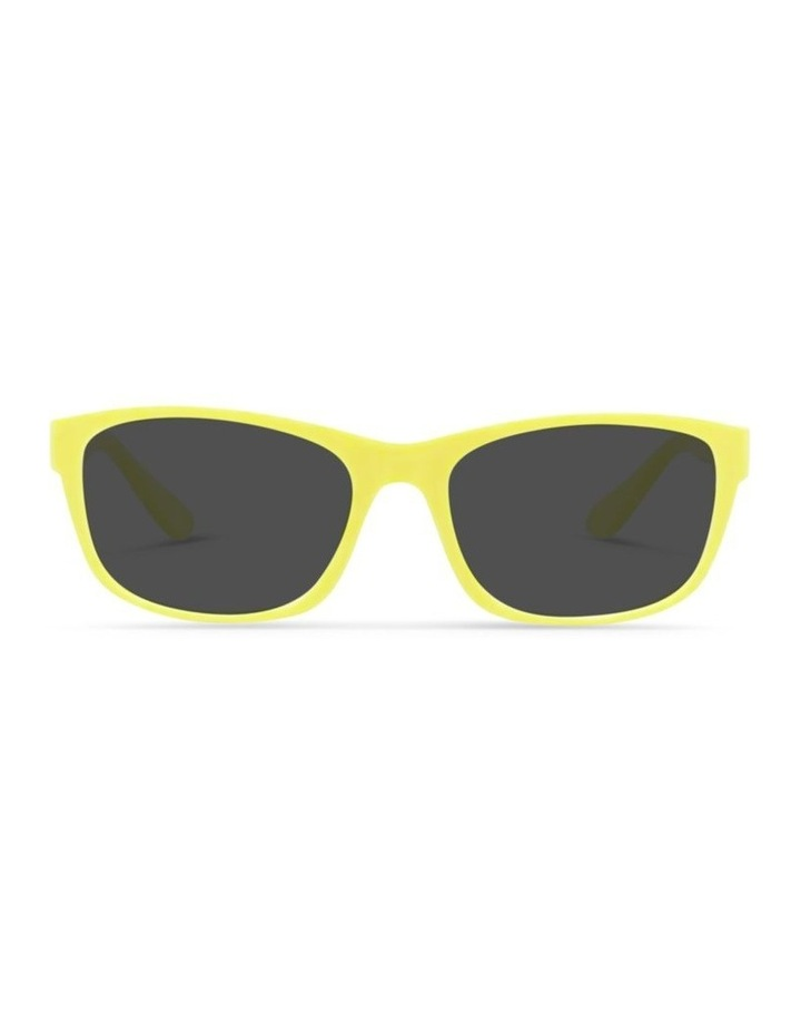 Daffodil Yellow UV Protected Polarised Sunglasses with Grey Tint image 1