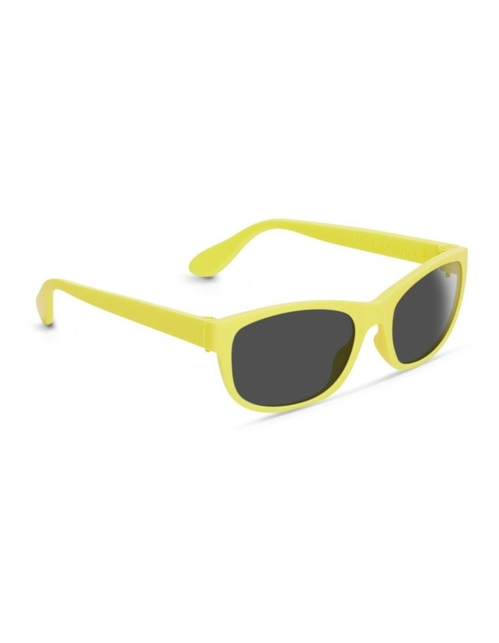 Daffodil Yellow UV Protected Polarised Sunglasses with Grey Tint image 2