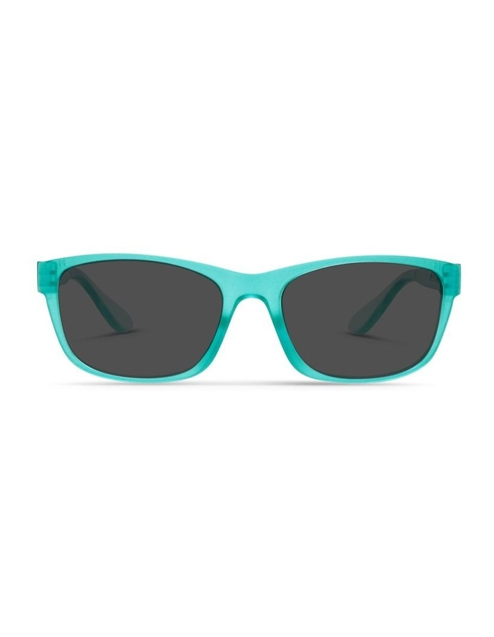 Ice Blue UV Protected Polarised with Grey Tint Rectangle Sunglasses image 1