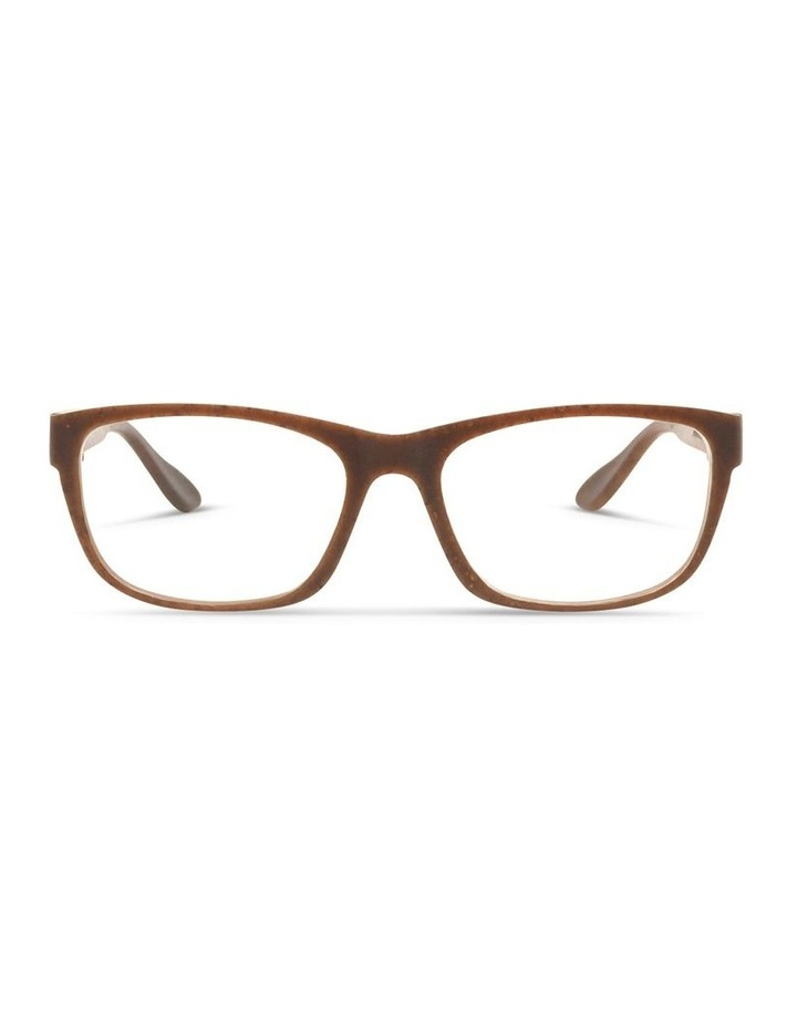 Recycled Brown Blue Light Filter Glasses image 1