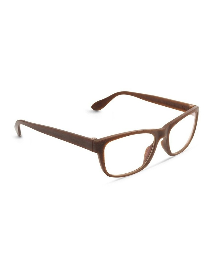 Recycled Brown Blue Light Filter Glasses image 2