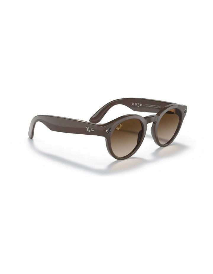 RAY-BAN STORIES ROUND Smart Glasses image 4