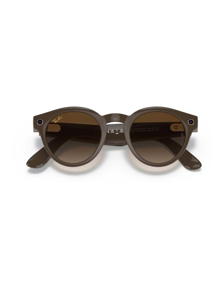 RAY-BAN STORIES ROUND Smart Glasses image 6