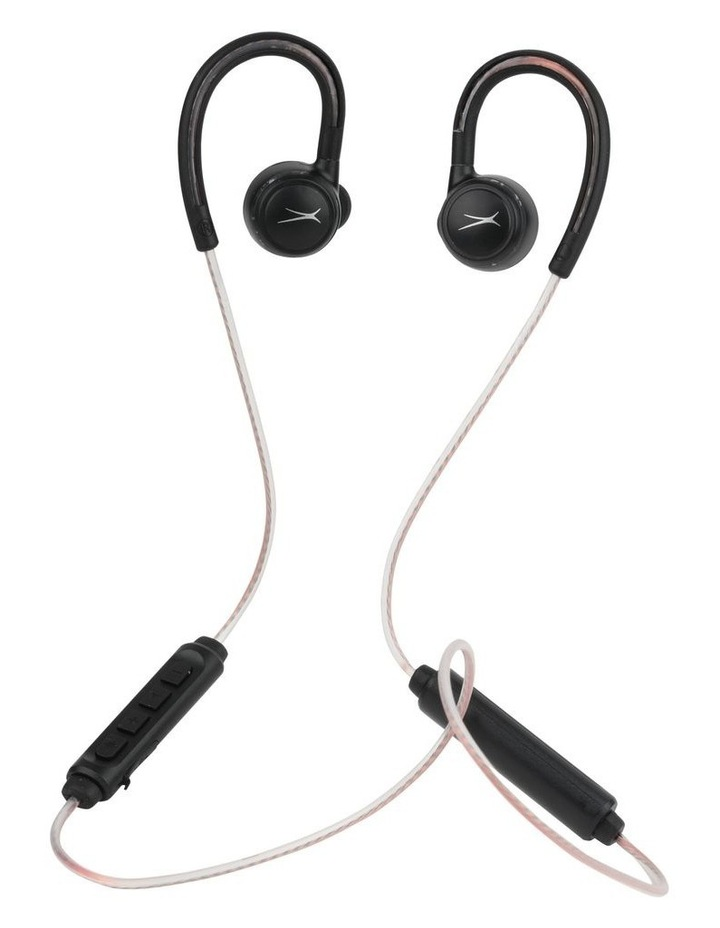 Altec Lansing Glow Run Bluetooth Earphones with LED Illuminated Cord MZX890L image 1