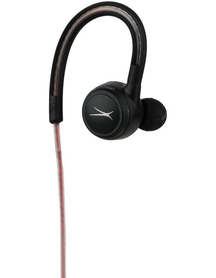 Altec Lansing Glow Run Bluetooth Earphones with LED Illuminated Cord MZX890L image 2