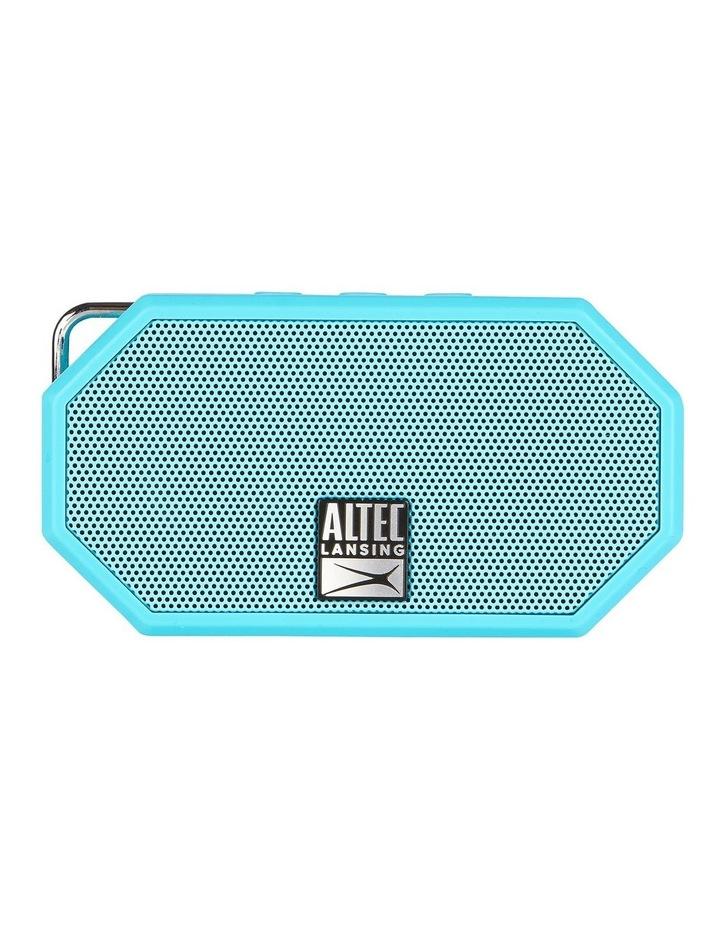 Mini H20 3 Aqua Blue - Everything Proof Rugged & Waterproof Bluetooth Speaker image 1