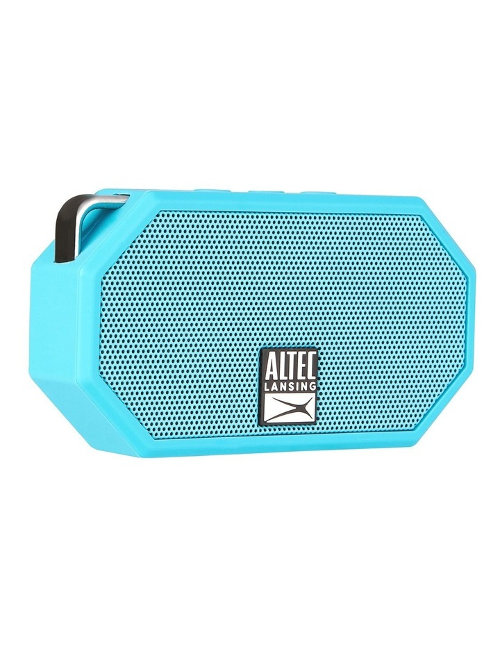 Mini H20 3 Aqua Blue - Everything Proof Rugged & Waterproof Bluetooth Speaker image 2