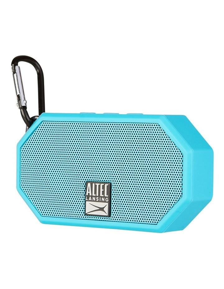 Mini H20 3 Aqua Blue - Everything Proof Rugged & Waterproof Bluetooth Speaker image 3