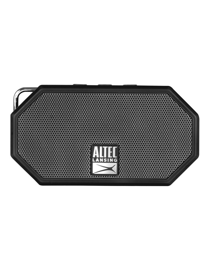 Mini H20 3 Black - Everything Proof Rugged & Waterproof Bluetooth Speaker IMW258N-BLK image 1