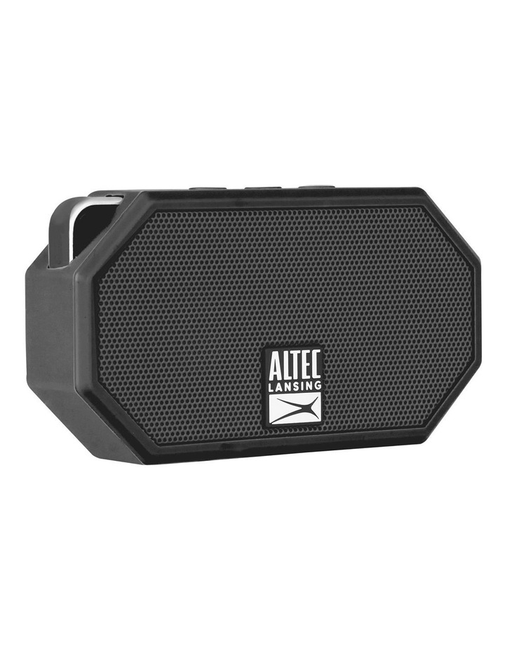 Mini H20 3 Black - Everything Proof Rugged & Waterproof Bluetooth Speaker IMW258N-BLK image 2