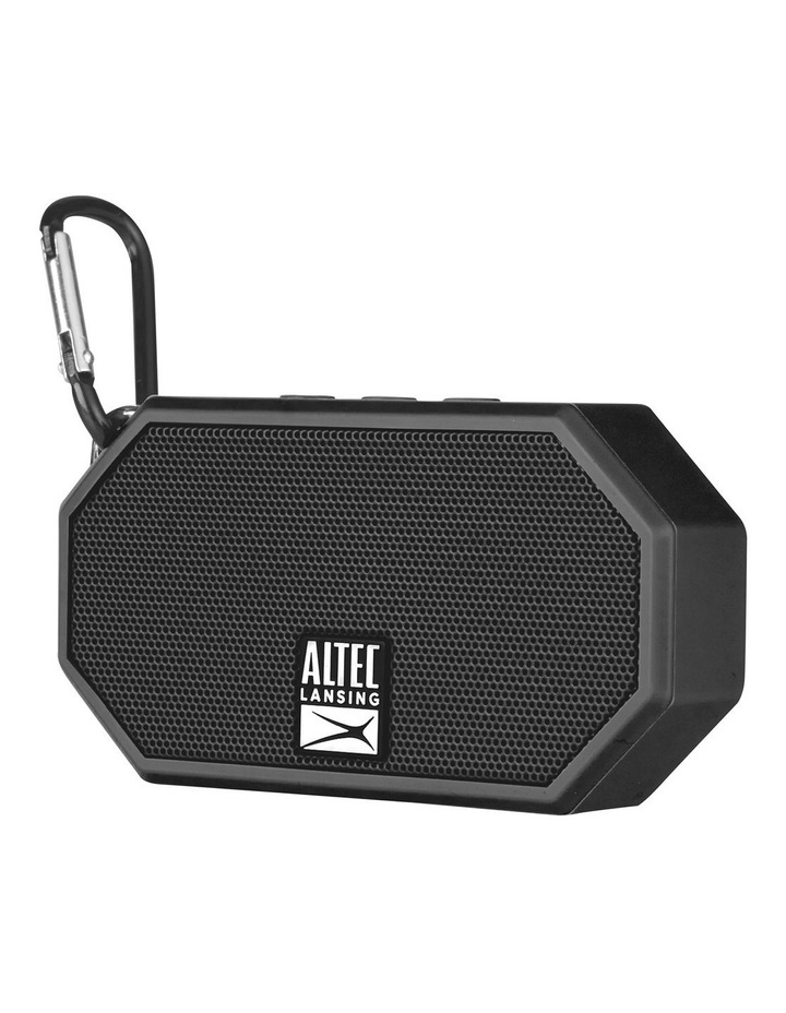 Mini H20 3 Black - Everything Proof Rugged & Waterproof Bluetooth Speaker IMW258N-BLK image 3
