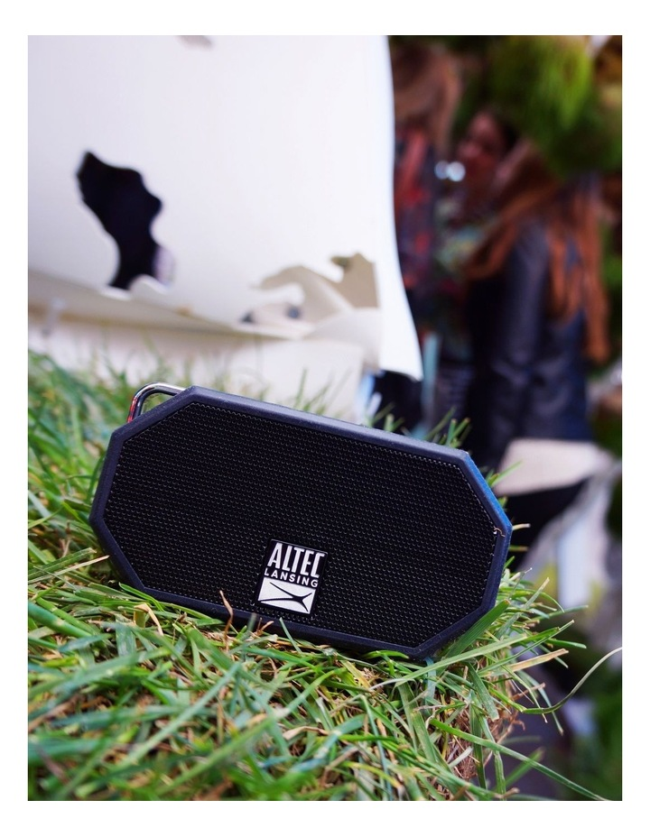 Mini H20 3 Black - Everything Proof Rugged & Waterproof Bluetooth Speaker IMW258N-BLK image 4