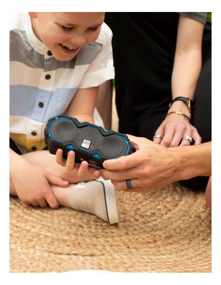 Mini LifeJacket Jolt Black/Blue - Everything Proof Rugged & Waterproof Bluetooth Speaker IMW479-RYB image 5