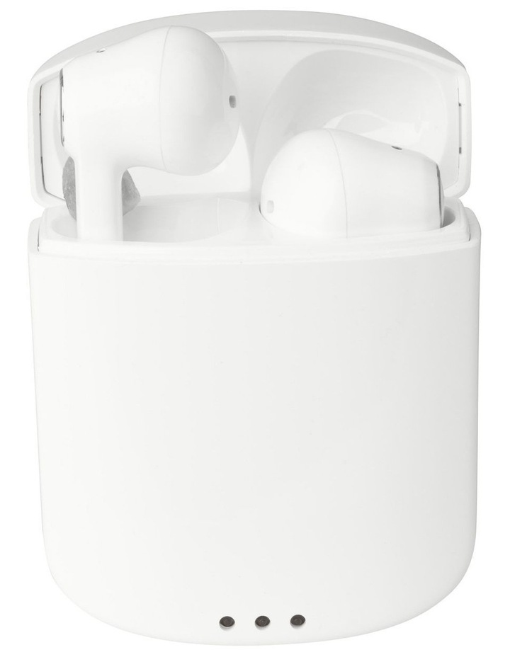 True Air Wireless Earphones White - True Wireless Stereo Bluetooth Earphones MZX634-WHT image 2