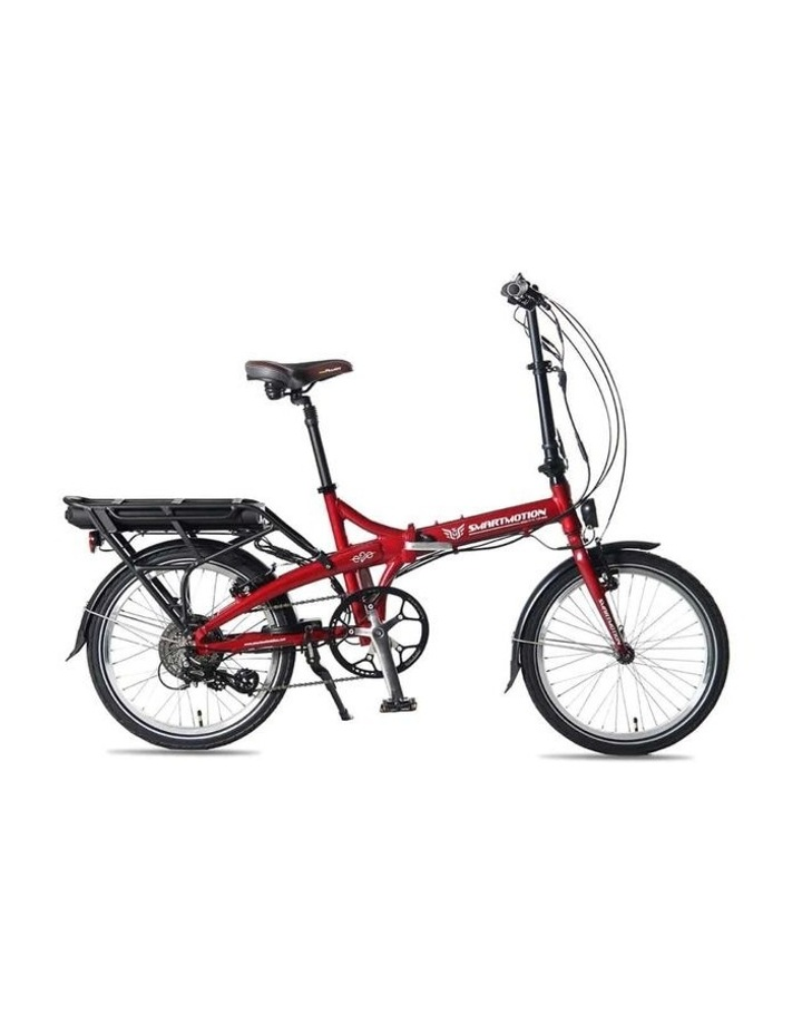 SmartMotion E-20 Foldable Bike - Red image 1